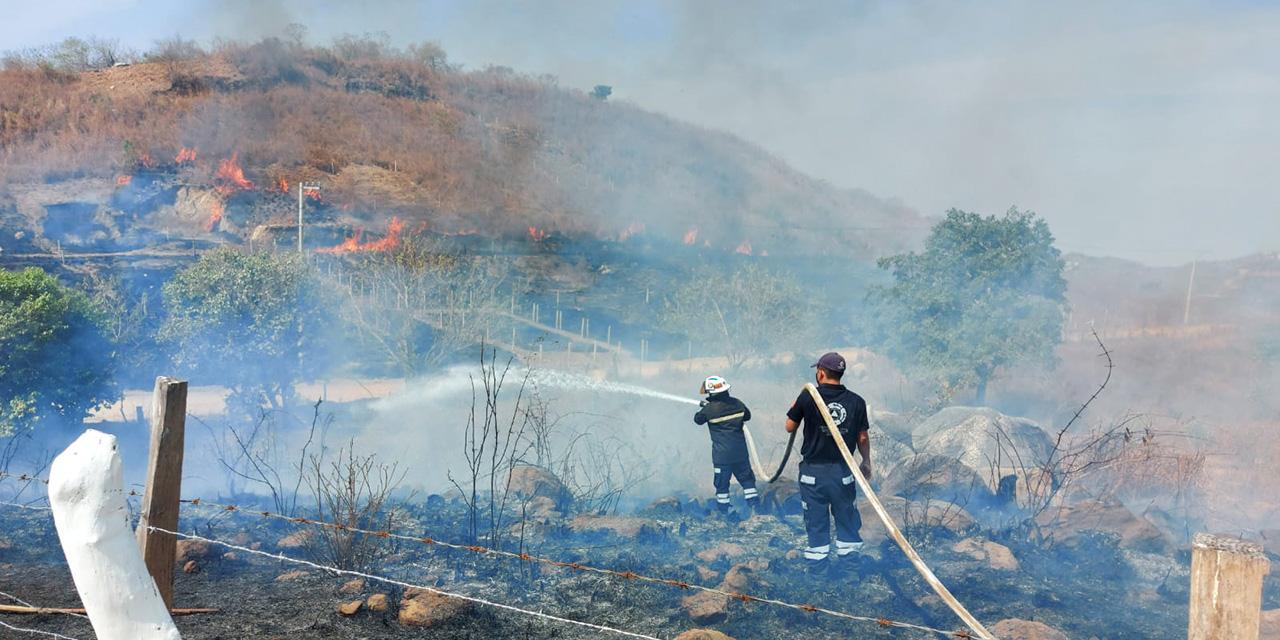 Alarma por incendio en Puerto Escondido que casi se sale de control | El Imparcial de Oaxaca