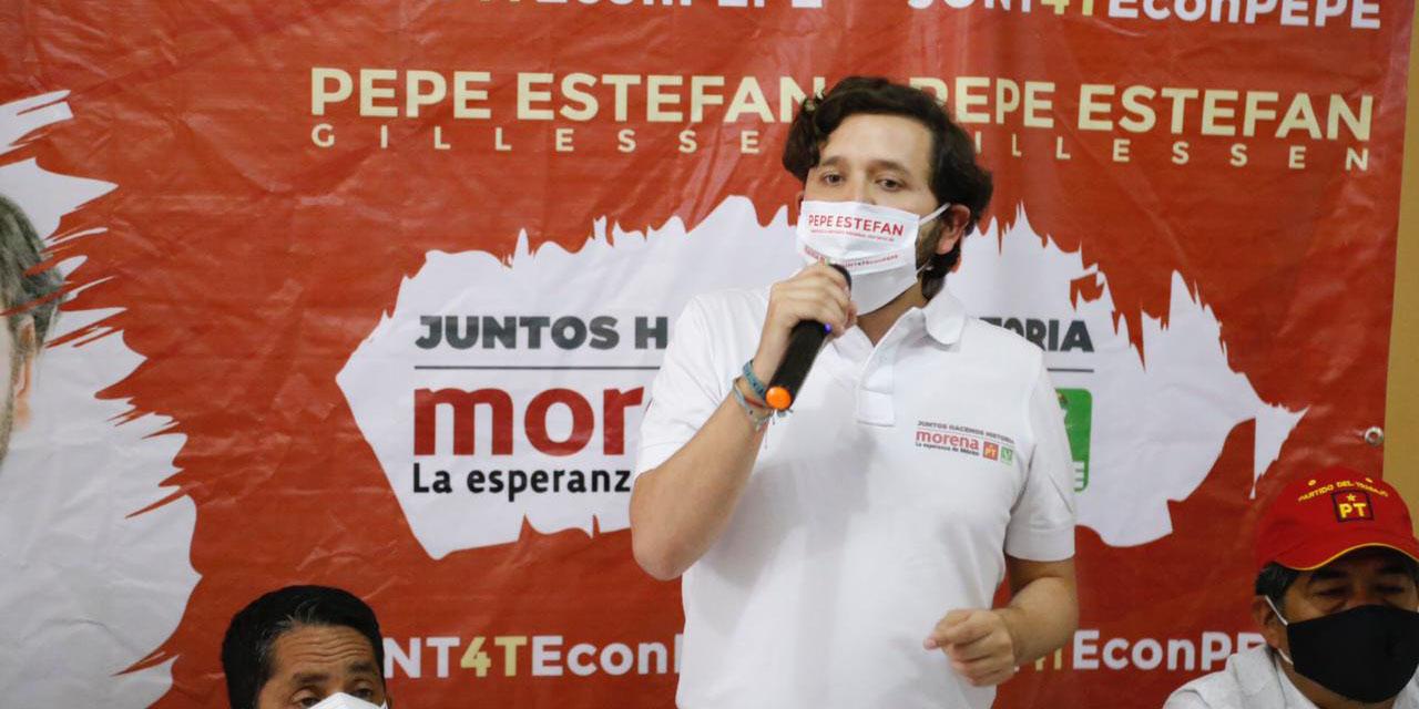 Estefan Gillessen inicia campaña a diputación federal | El Imparcial de Oaxaca