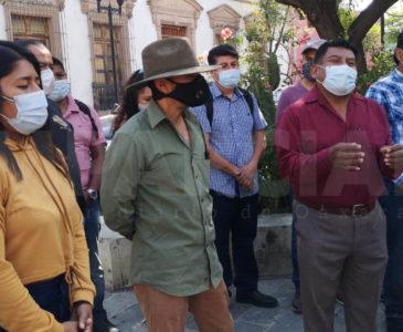 Artistas plásticos del Jardín Labastida denuncian conflicto interno
