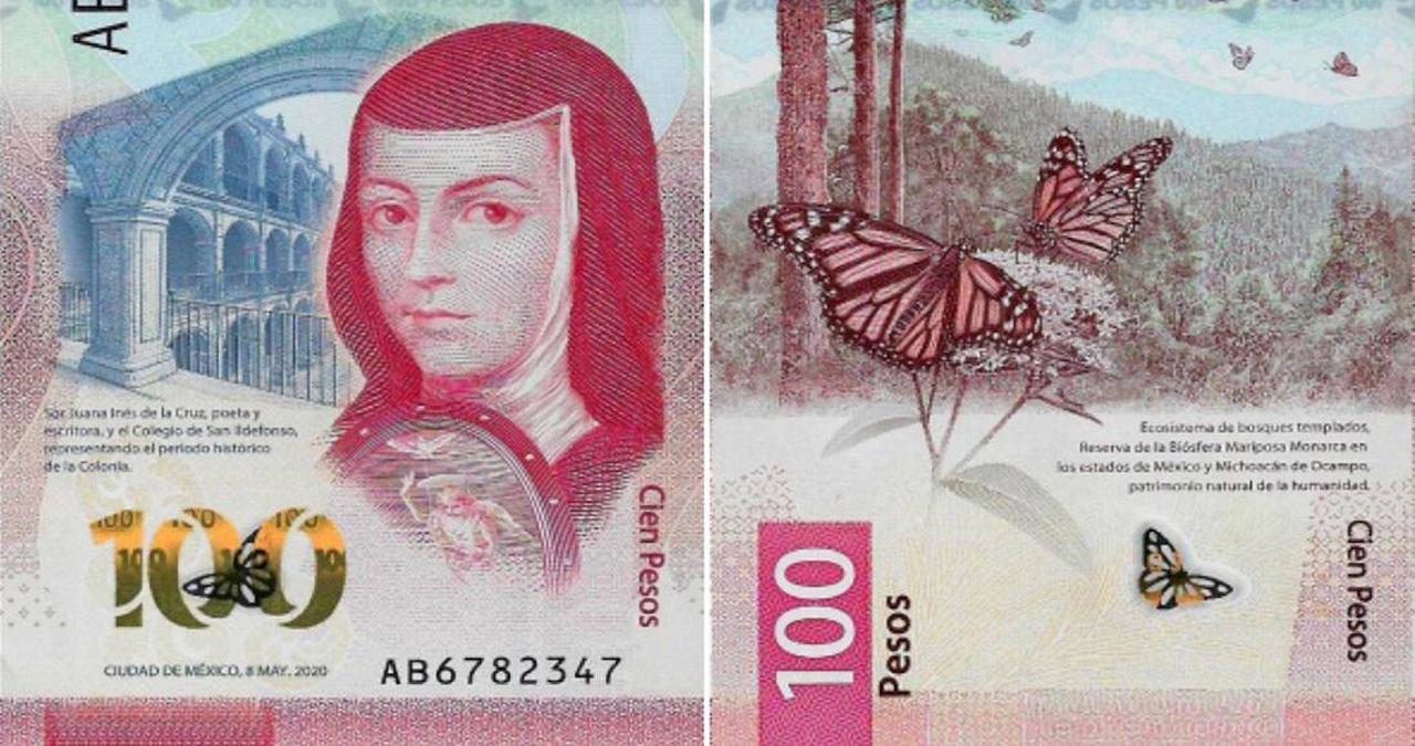 Billete de 100 pesos es nombrado el mejor del 2020 | El Imparcial de Oaxaca