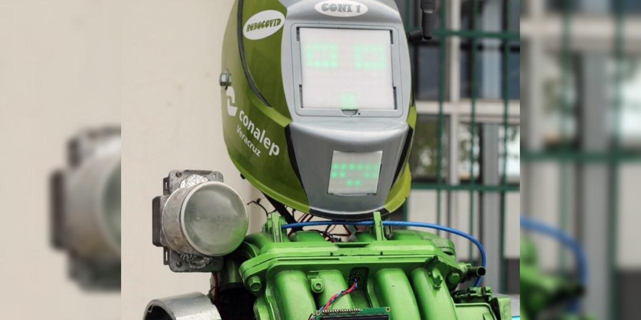 CONALEP crea robot que aplica los protocolos de sanitización contra COVID   El Imparcial de Oaxaca
