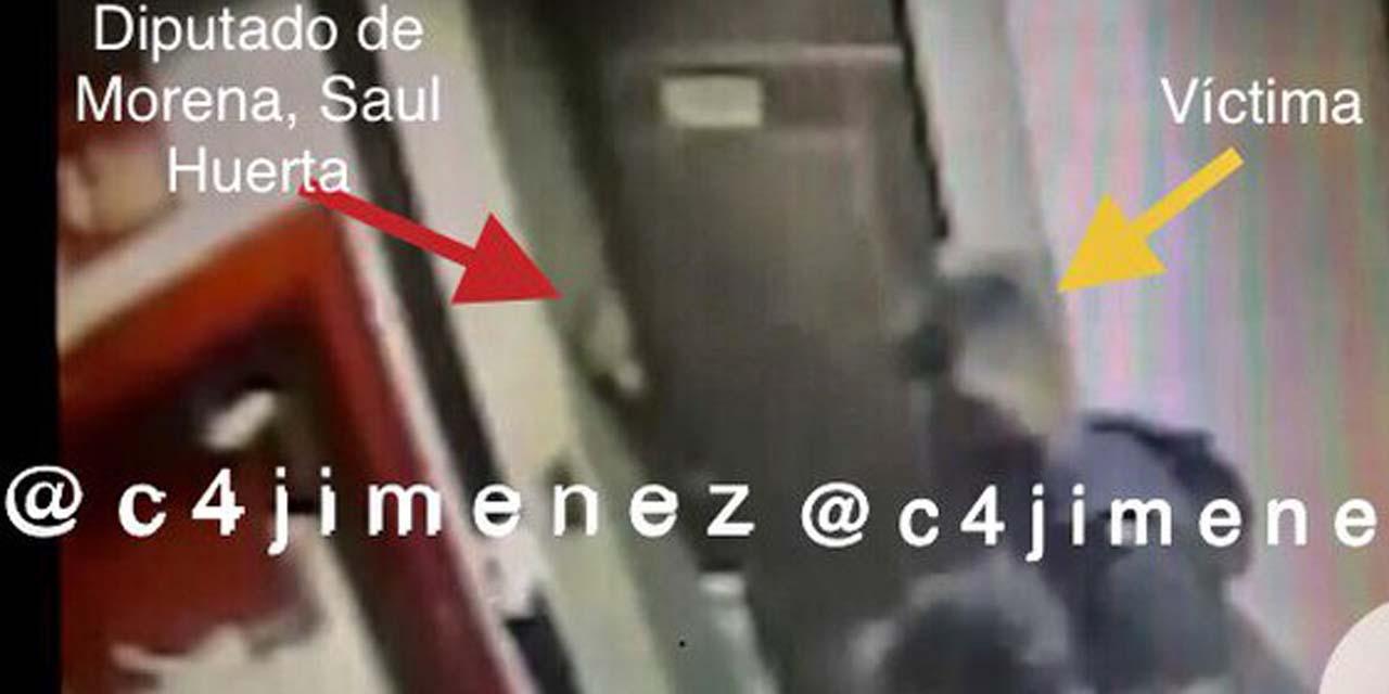 Video: Diputado Saúl Huerta en hotel donde abusó del menor   El Imparcial de Oaxaca
