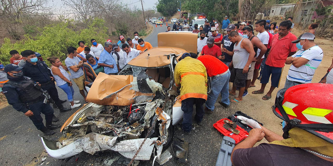 Taxista muere prensado en Pochutla | El Imparcial de Oaxaca