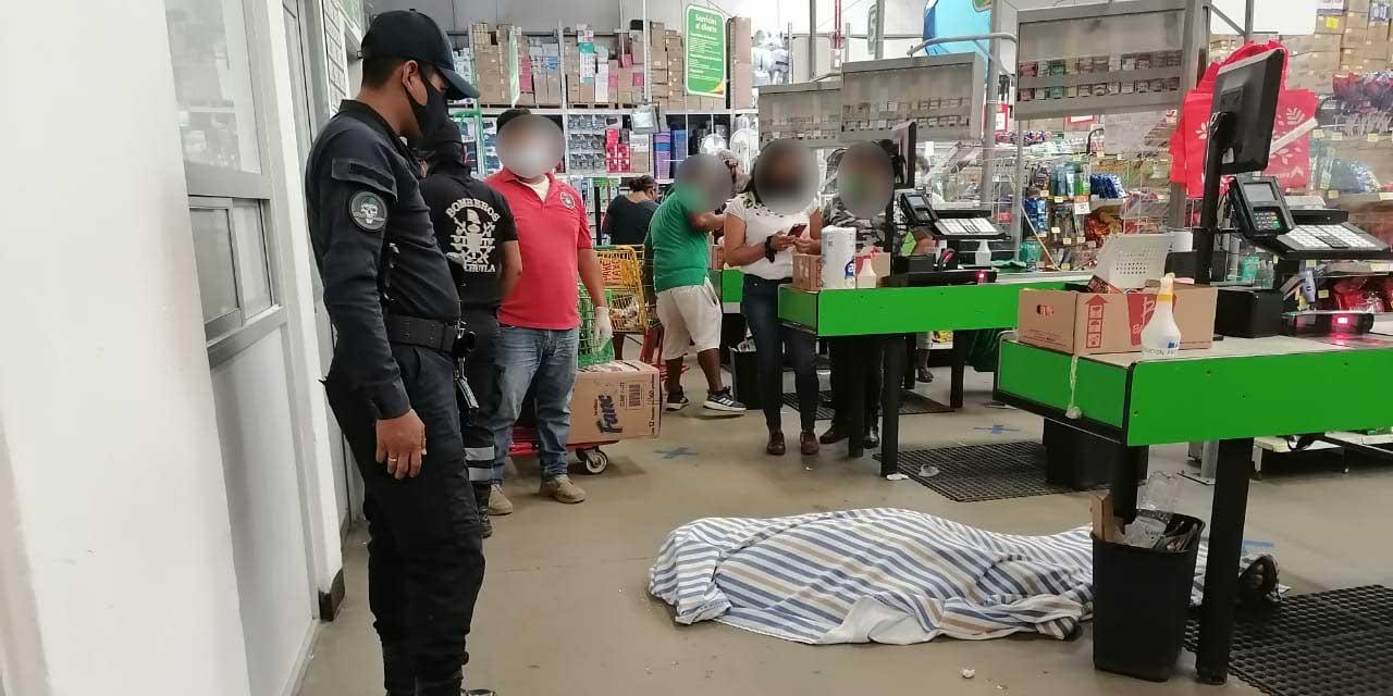 Muere en centro comercial de Pochutla | El Imparcial de Oaxaca