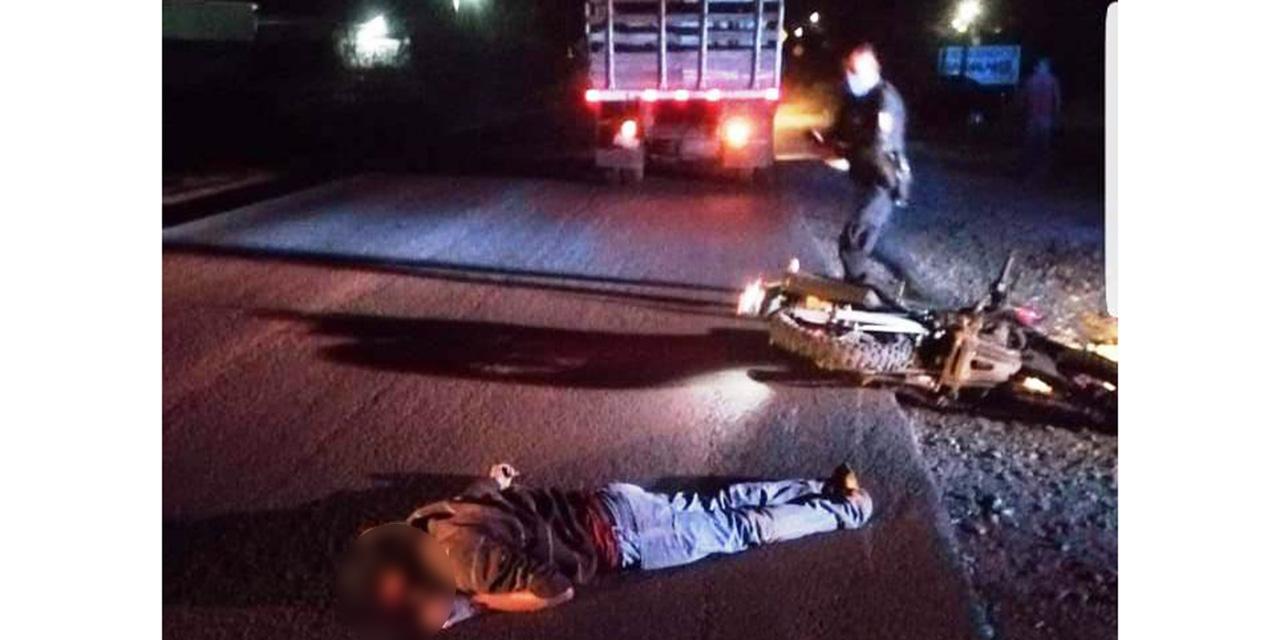 Derrapa brutalmente en libramiento de Huajuapan | El Imparcial de Oaxaca
