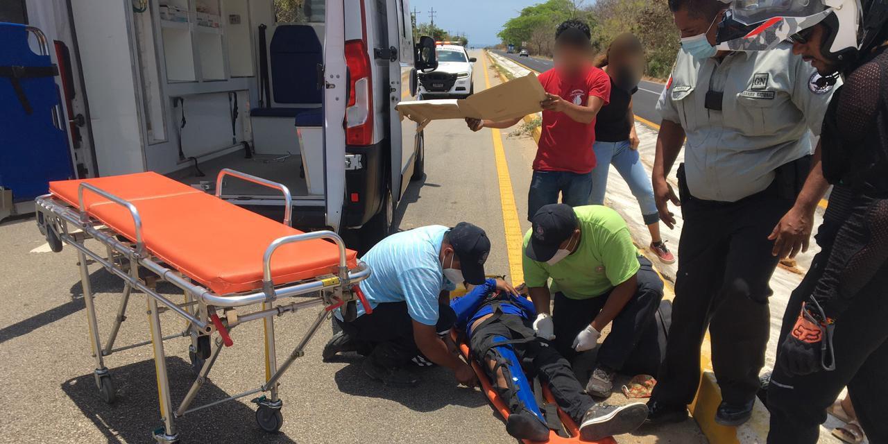 Arrollan a motociclista en la carretera 200 | El Imparcial de Oaxaca