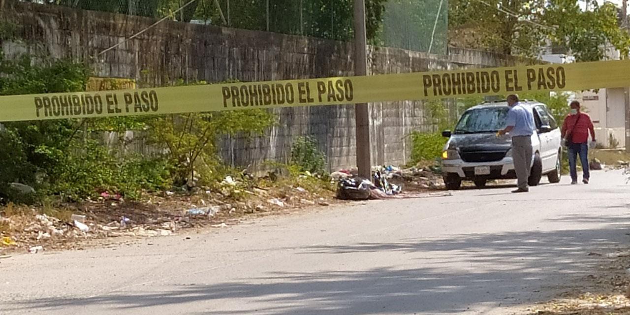 Encobijan y embolsan cadáver de un hombre en Salina Cruz   El Imparcial de Oaxaca
