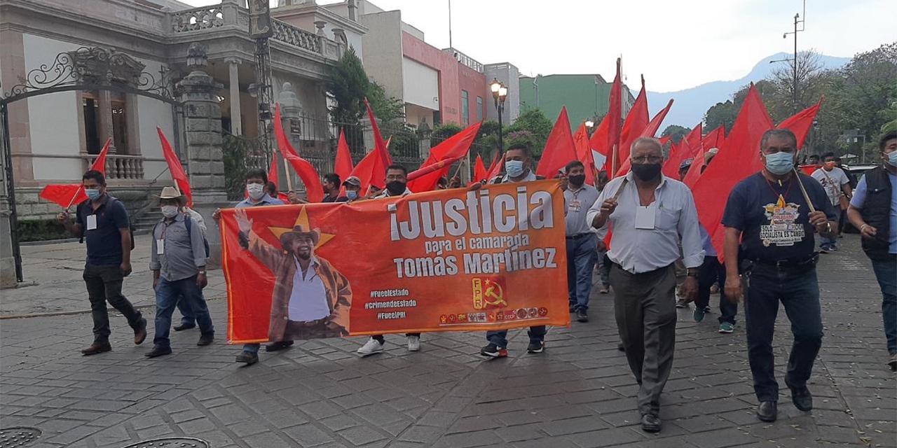 Protesta de FPR en Casa Oficial | El Imparcial de Oaxaca