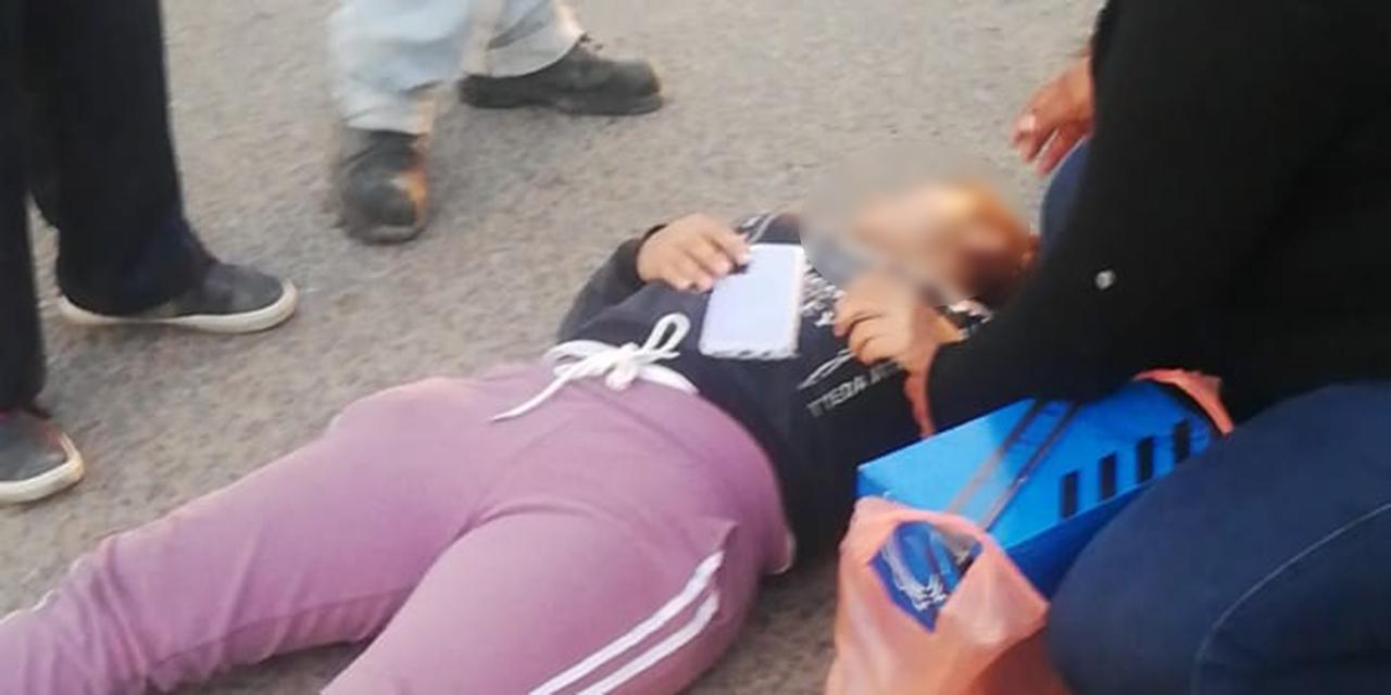 Arrollan a una mujer en La Experimental   El Imparcial de Oaxaca