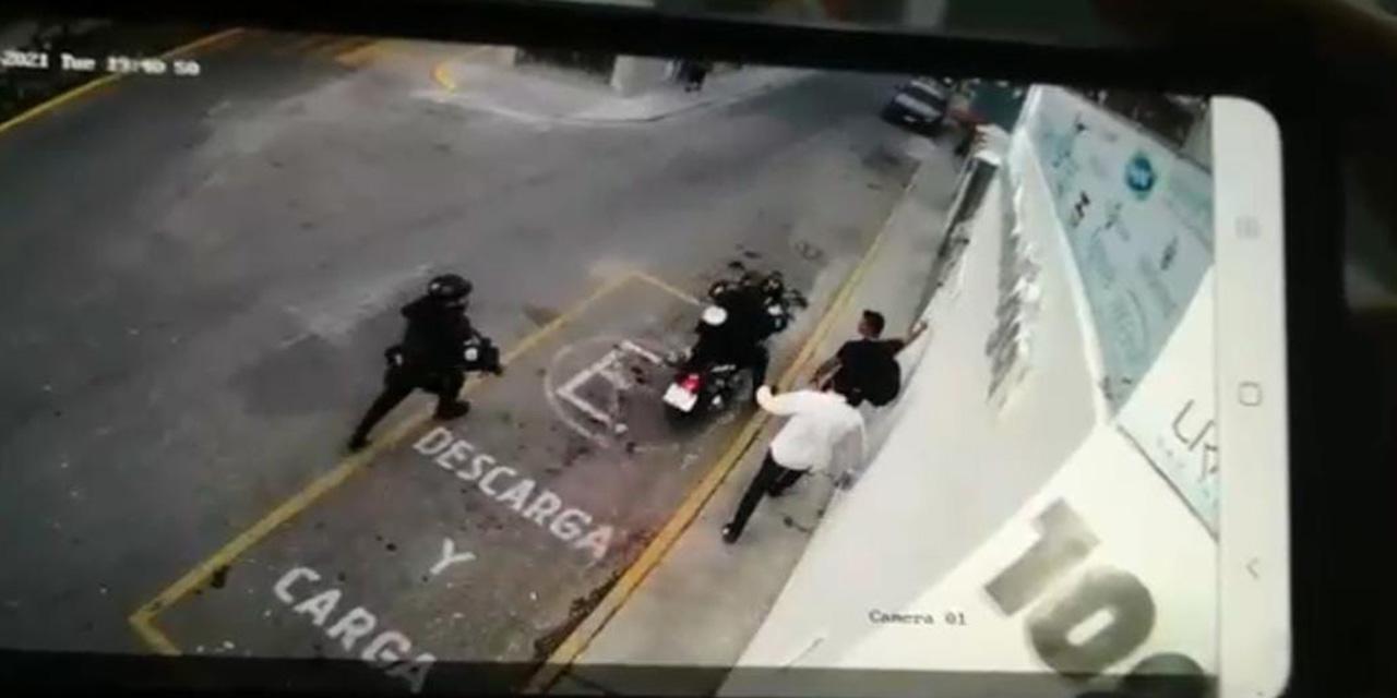 Policía municipal de Oaxaca balea a herrero en la Colonia Morelos | El Imparcial de Oaxaca