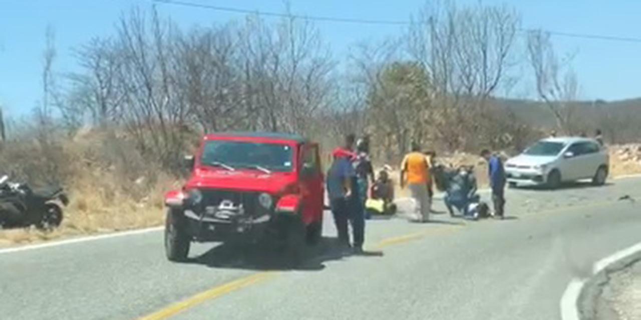 Joven motociclista muere en accidente en carretera 190 Oaxaca-Istmo | El Imparcial de Oaxaca