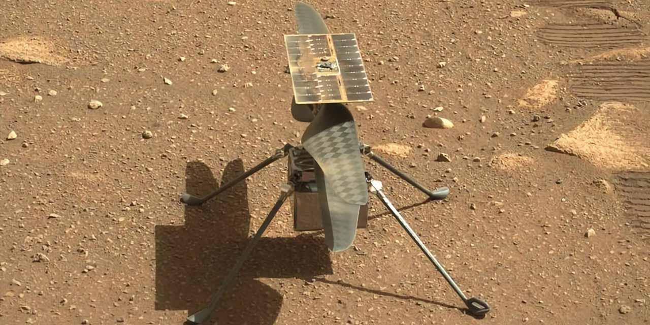 NASA pospone de nuevo el vuelo del helicóptero Ingenuity en Marte | El Imparcial de Oaxaca