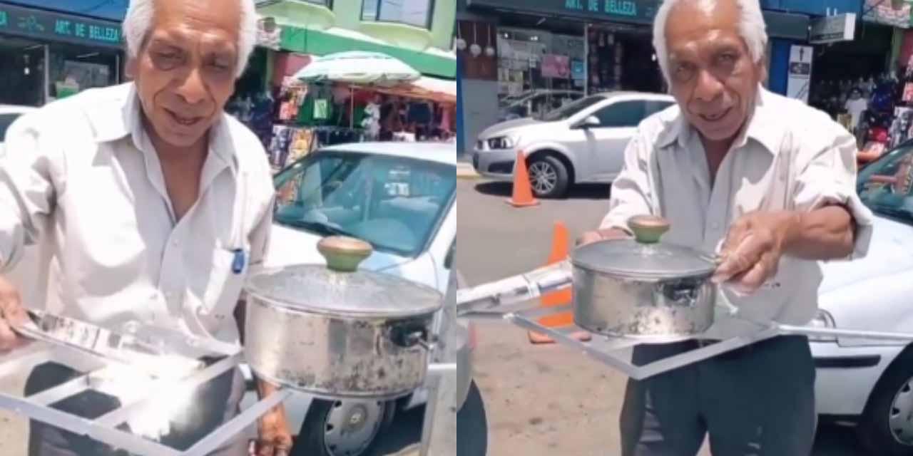 Usando material reciclado; Don Maximino inventa estufa solar | El Imparcial de Oaxaca