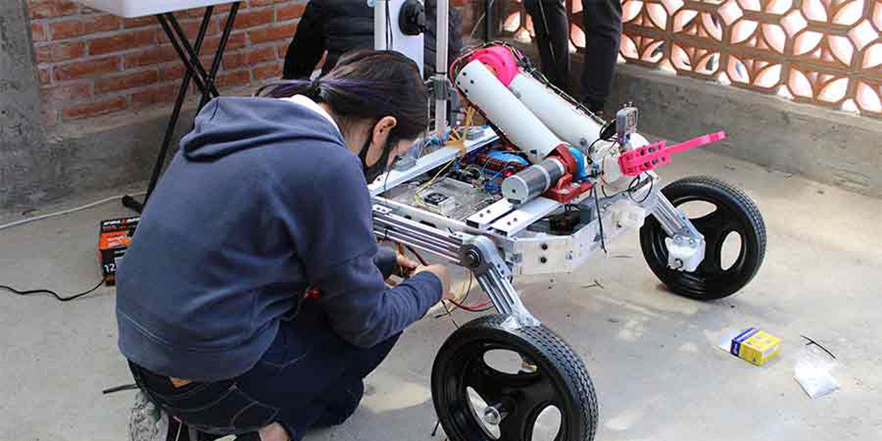 Roverto un robot construido en México para explorar Marte | El Imparcial de Oaxaca