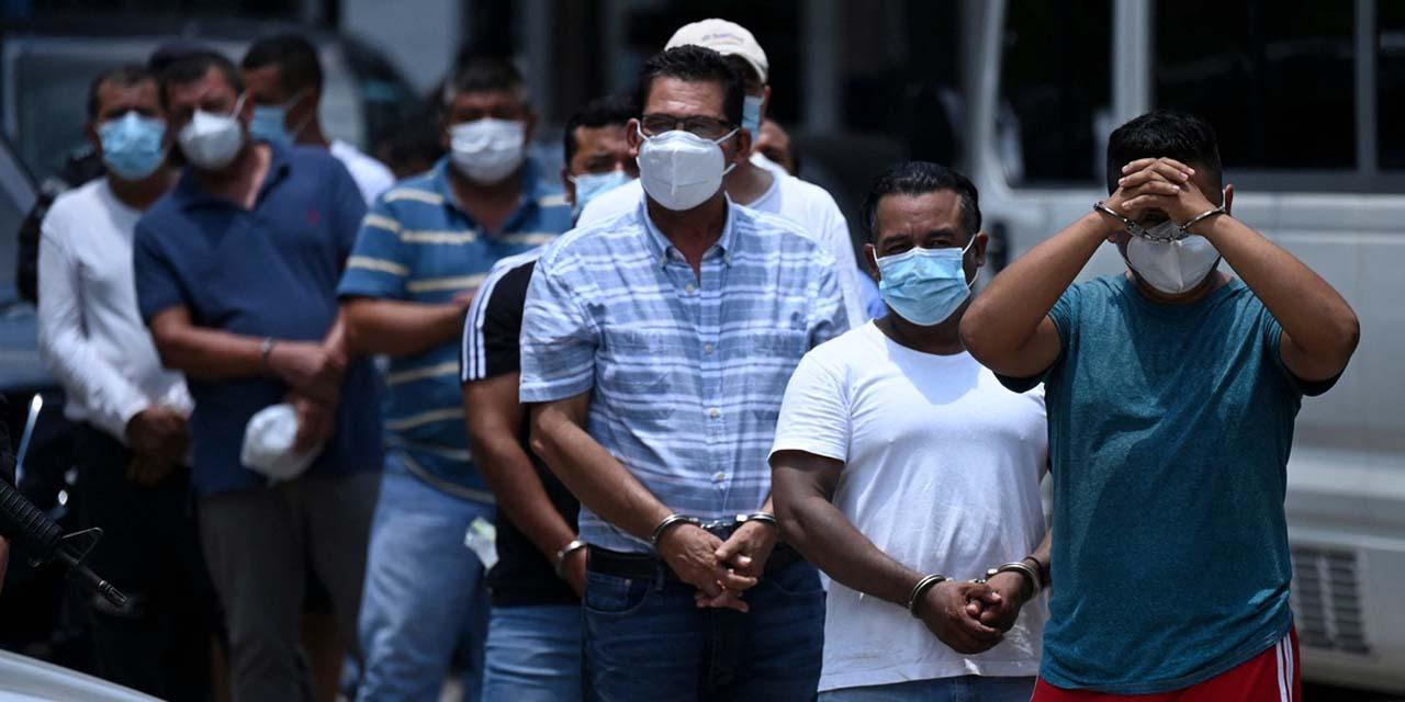 En el Salvador detienen a alcaldes y a policías por corruptos   El Imparcial de Oaxaca