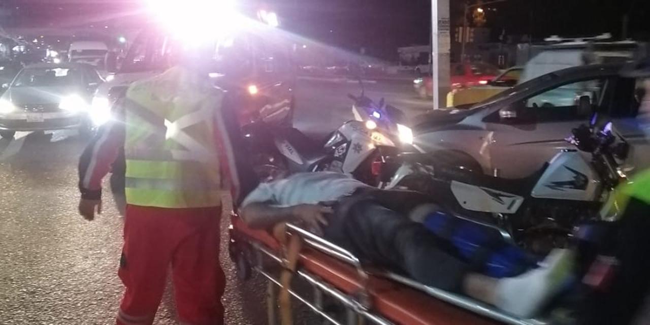 Motociclista se impacta contra camioneta  en Ixcotel   El Imparcial de Oaxaca