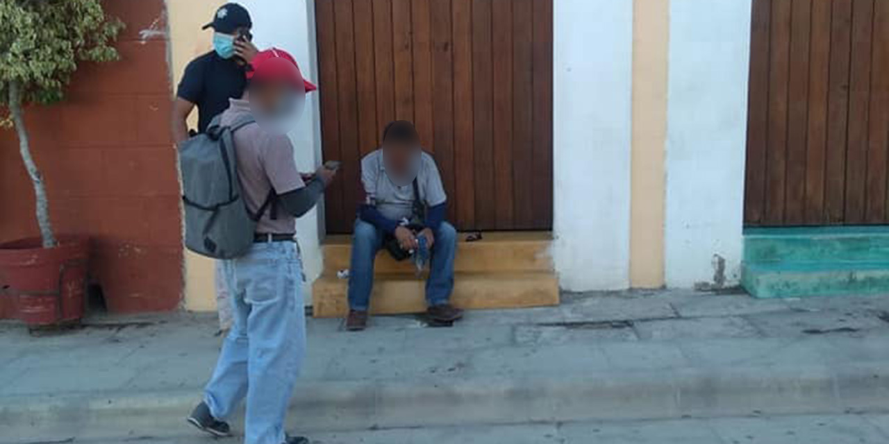 Golpean brutalmente a inspector municipal en Centro Histórico de Oaxaca | El Imparcial de Oaxaca