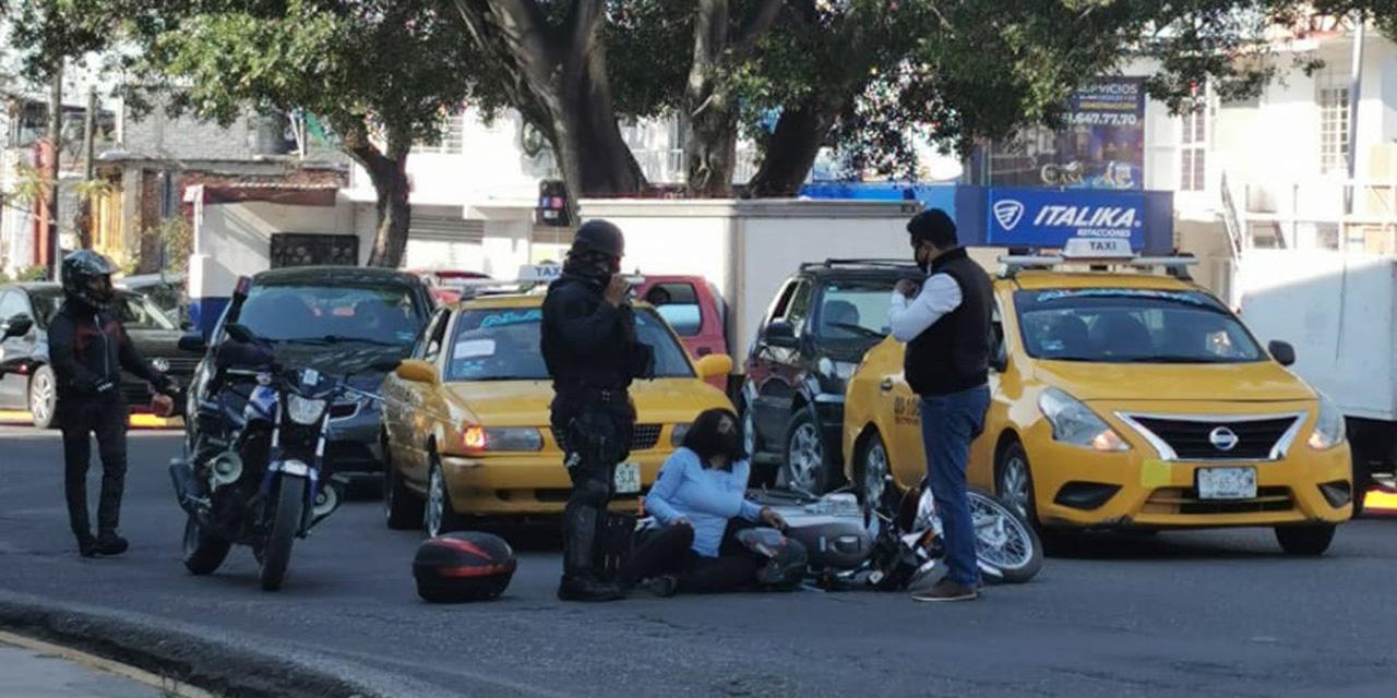 Mujer es arrollada por un ruletero | El Imparcial de Oaxaca