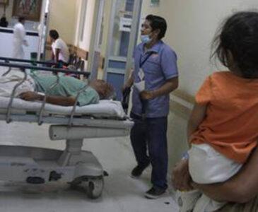 Notifican 7 hospitales saturados en Oaxaca