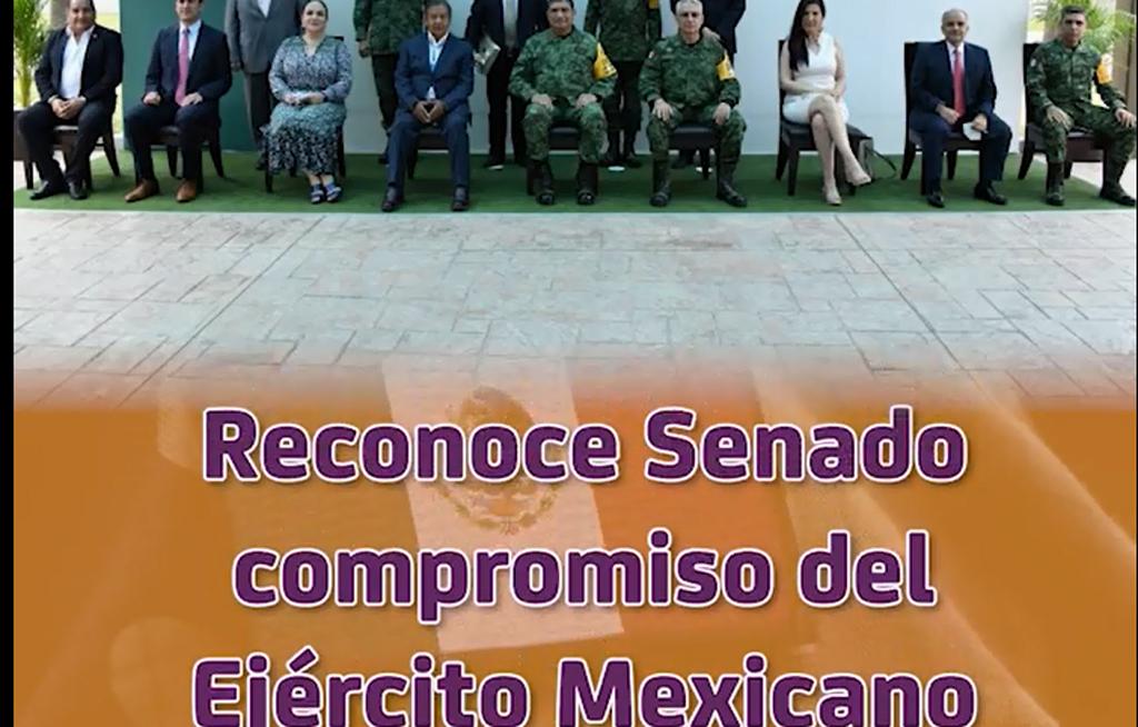 Reconoce Senado compromiso del Ejército Mexicano | El Imparcial de Oaxaca