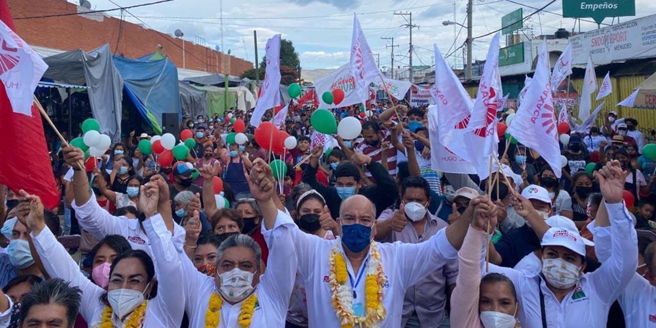 Multitudinario respaldo de la UCD a Villacaña   El Imparcial de Oaxaca