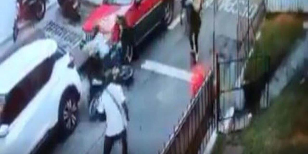 Video: Colombiano detiene a ladrones con patada voladora | El Imparcial de Oaxaca