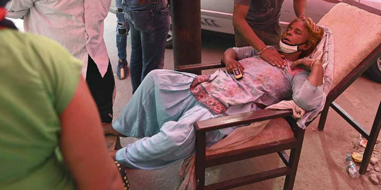 En Nueva Delhi el covid es un terremoto que todo colapsa   El Imparcial de Oaxaca