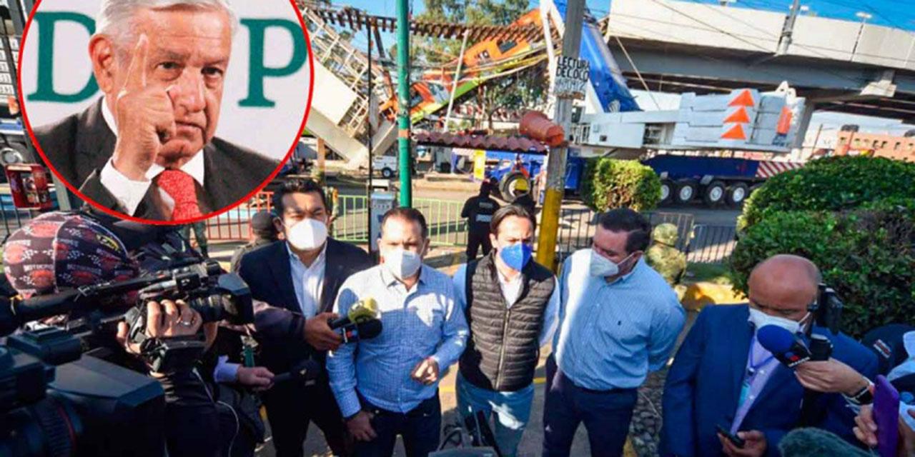 Línea 12 no es para aprovecharse de tragedia: López Obrador | El Imparcial de Oaxaca