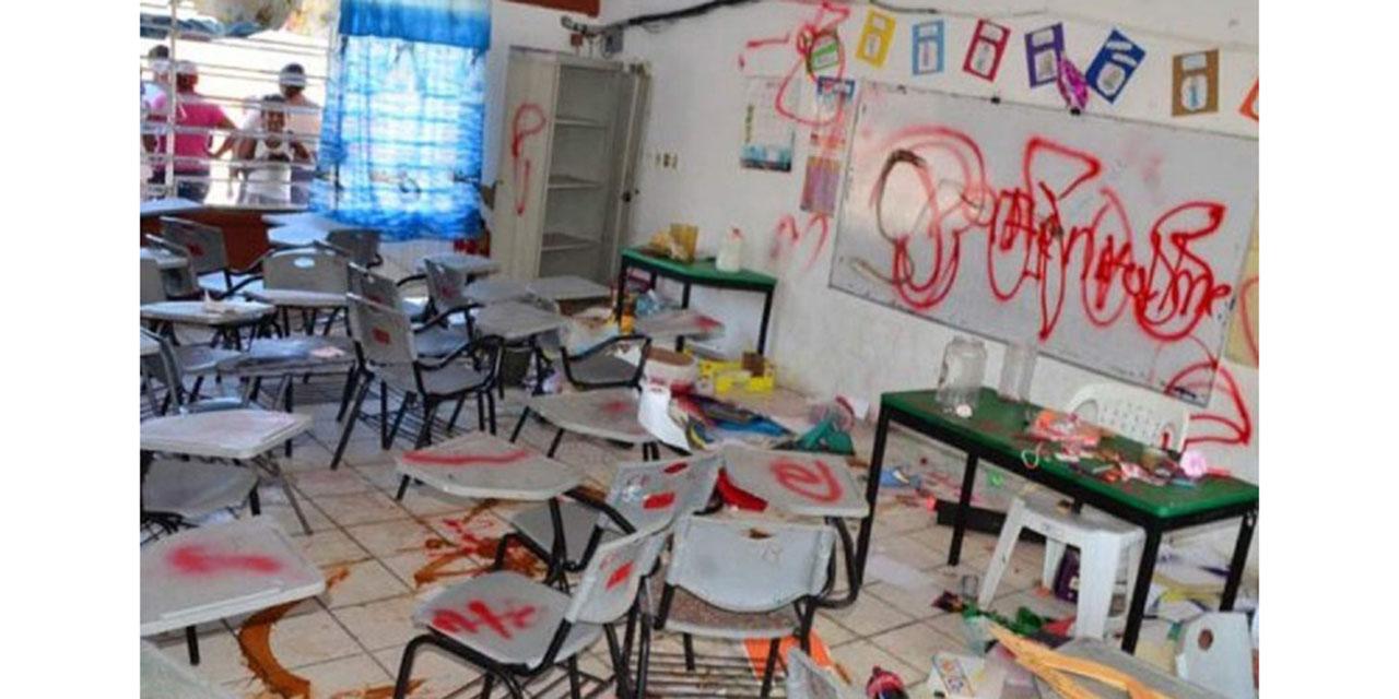 Vandalizan 50% de las escuelas del país | El Imparcial de Oaxaca