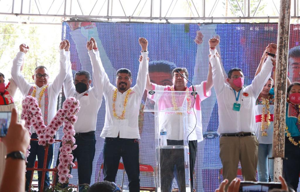 Pedro Haces brinda Respaldo Total a Jesús Ruiz Olmedo   El Imparcial de Oaxaca