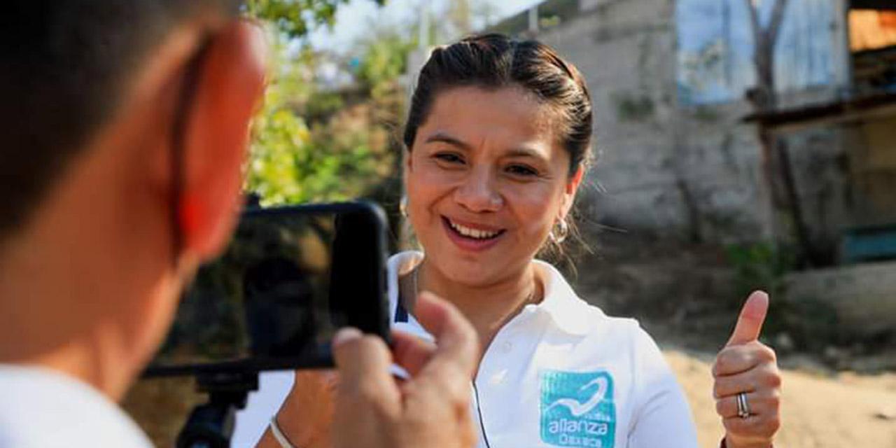 Adriana Altamirano, la mejor calificada para el distrito local 25: Nueva Alianza   El Imparcial de Oaxaca