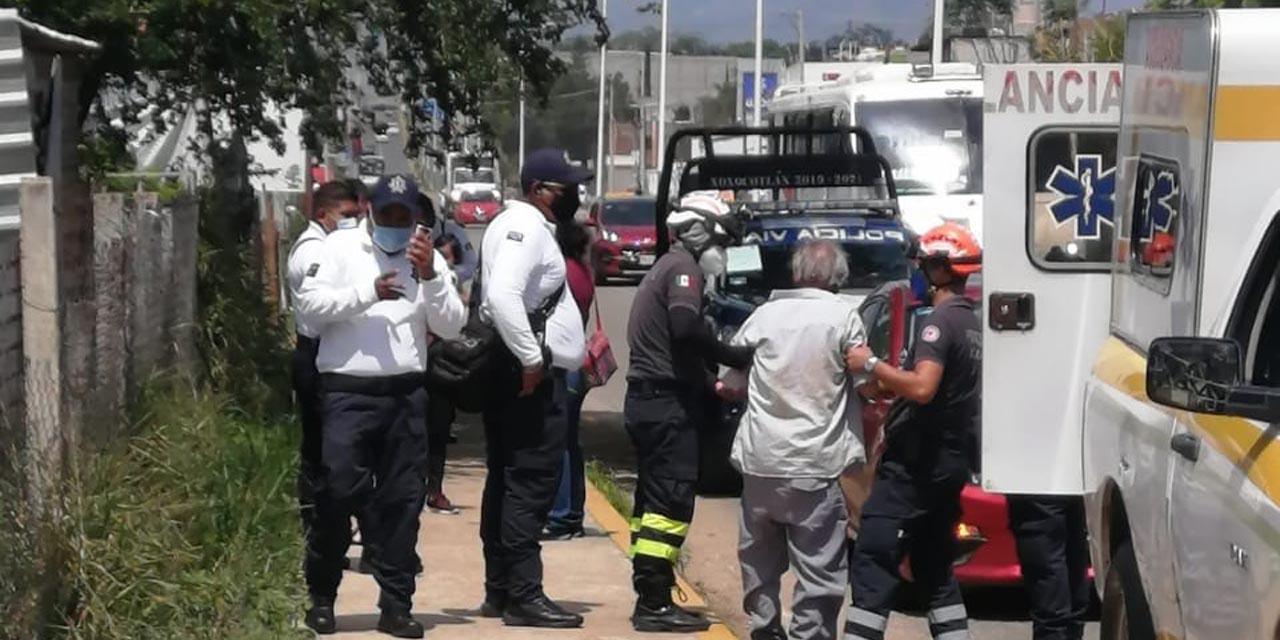 Arrollan a hombre de la tercera edad en Santa Cruz Xoxocotlán | El Imparcial de Oaxaca