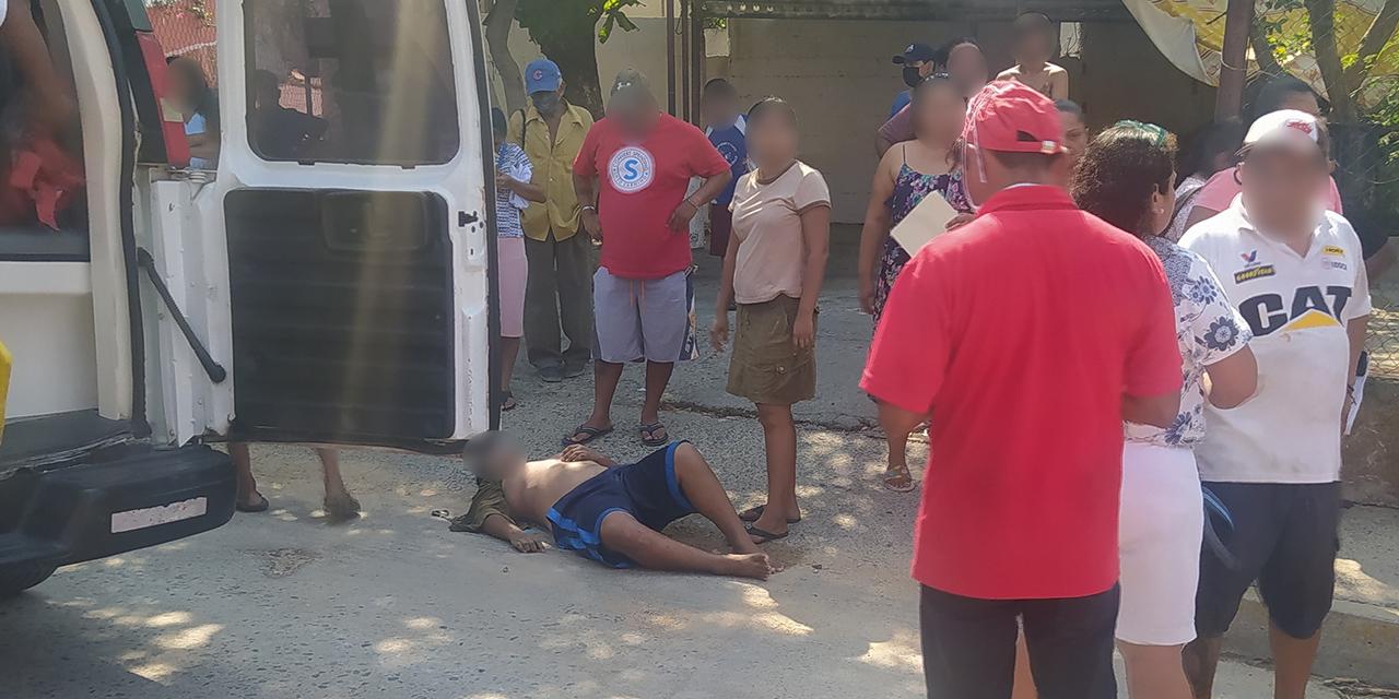 Se quedan sin frenos y chocan contra vehículo en Salina Cruz | El Imparcial de Oaxaca
