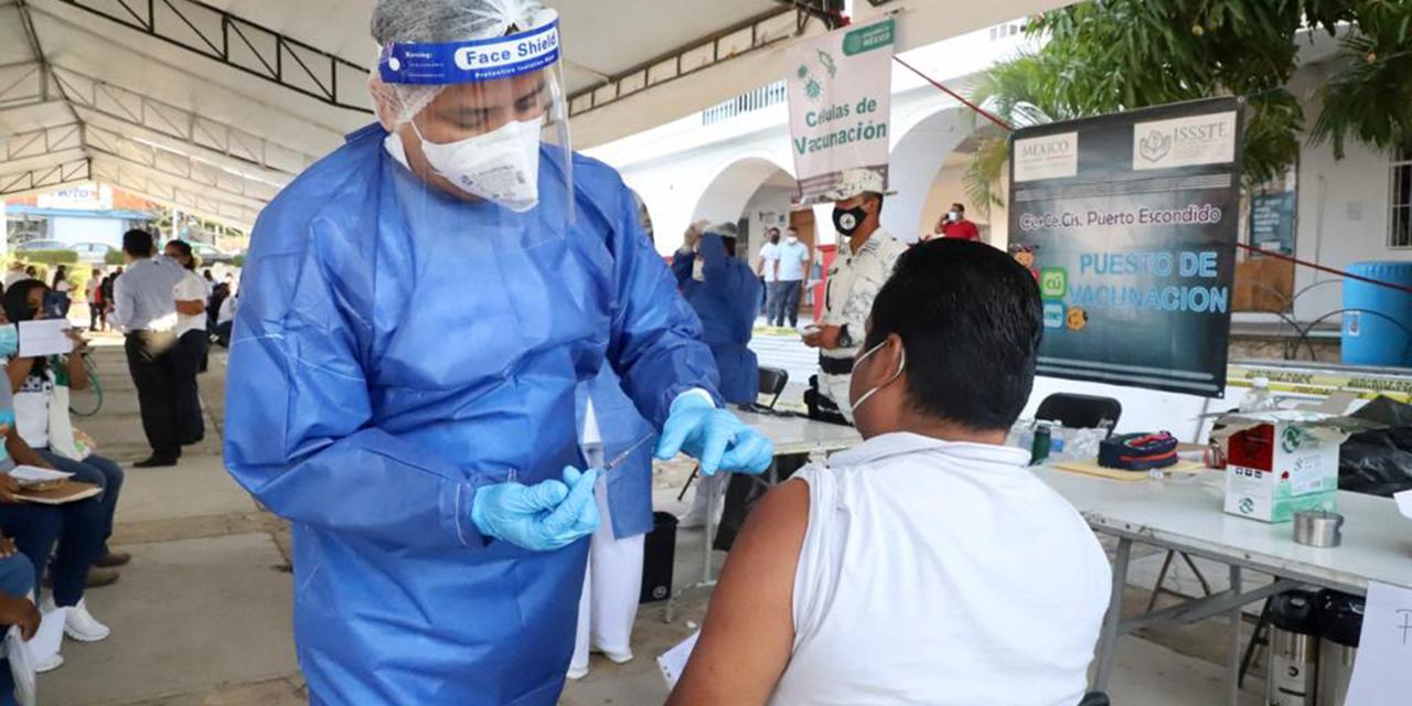 Oaxaca rompe récord de vacunación con más de 35 mil dosis en un día | El Imparcial de Oaxaca