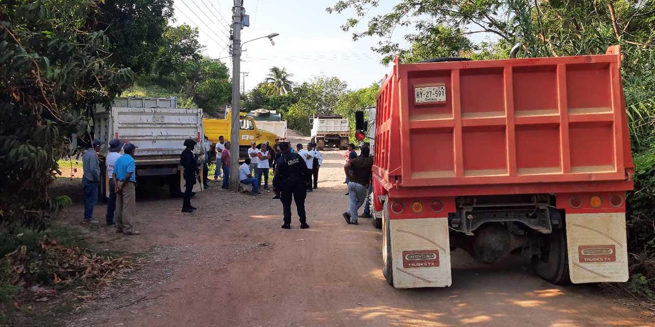 Sindicatos Libertad y Catem bloquean camino en Cuicatlán | El Imparcial de Oaxaca