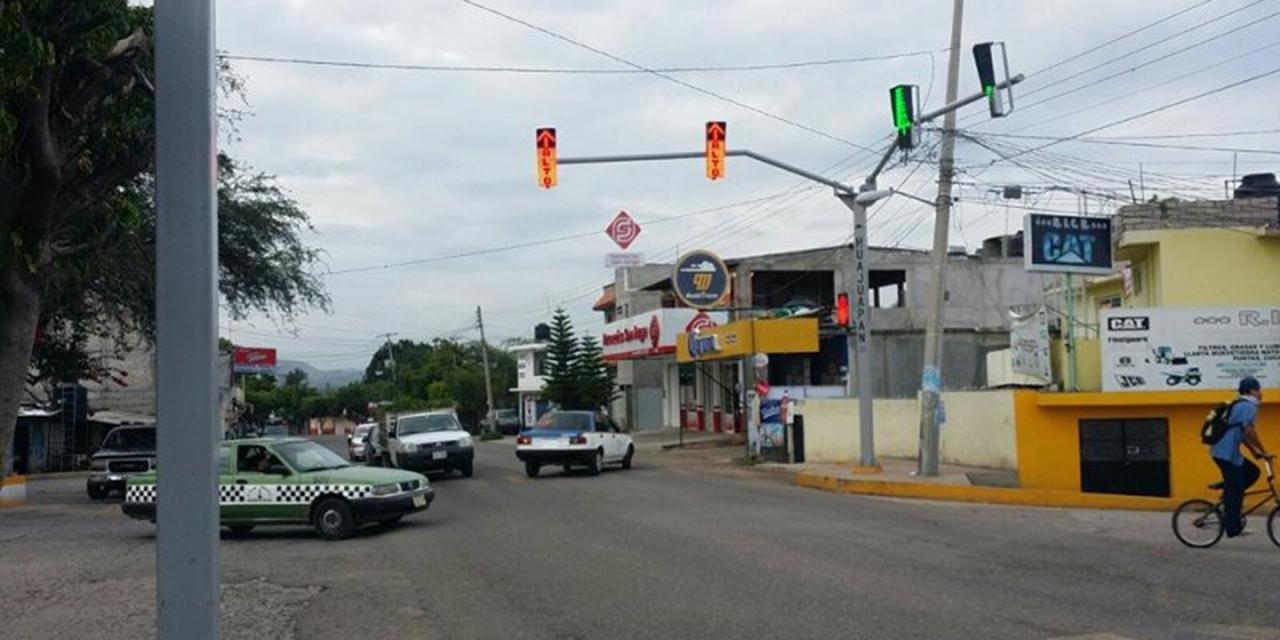 Protagonizan choque en ciudad de Huajuapan | El Imparcial de Oaxaca
