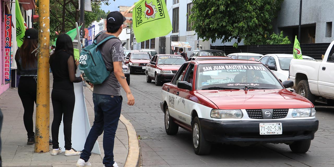 Exhortan a candidatos a evitar propaganda en el Centro Histórico de Oaxaca | El Imparcial de Oaxaca