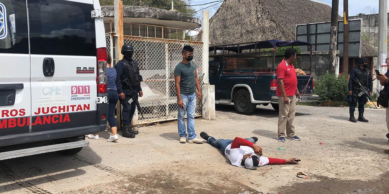 Aparatoso accidente en carretera a El Espinal | El Imparcial de Oaxaca