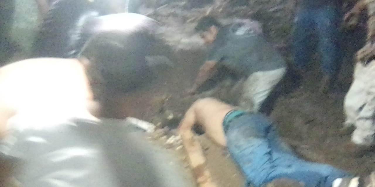 Barda cae sobre feligreses en Tlacolula | El Imparcial de Oaxaca