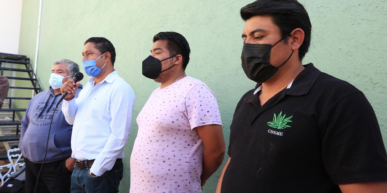 Mezcaleros exigen auditar a Hipócrates Nolasco | El Imparcial de Oaxaca