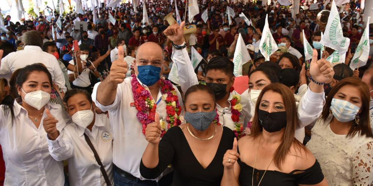 Cimbra el grito joven del triunfo de Villacaña | El Imparcial de Oaxaca
