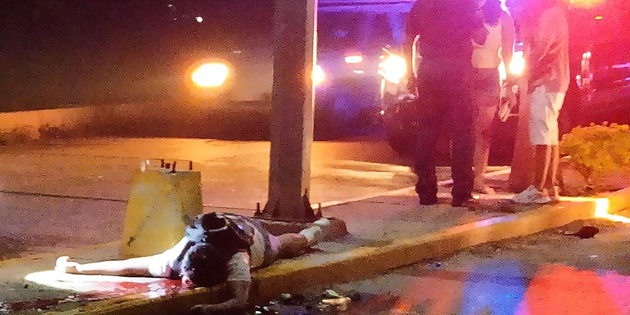 Muere tras derrapar en Salina Cruz   El Imparcial de Oaxaca