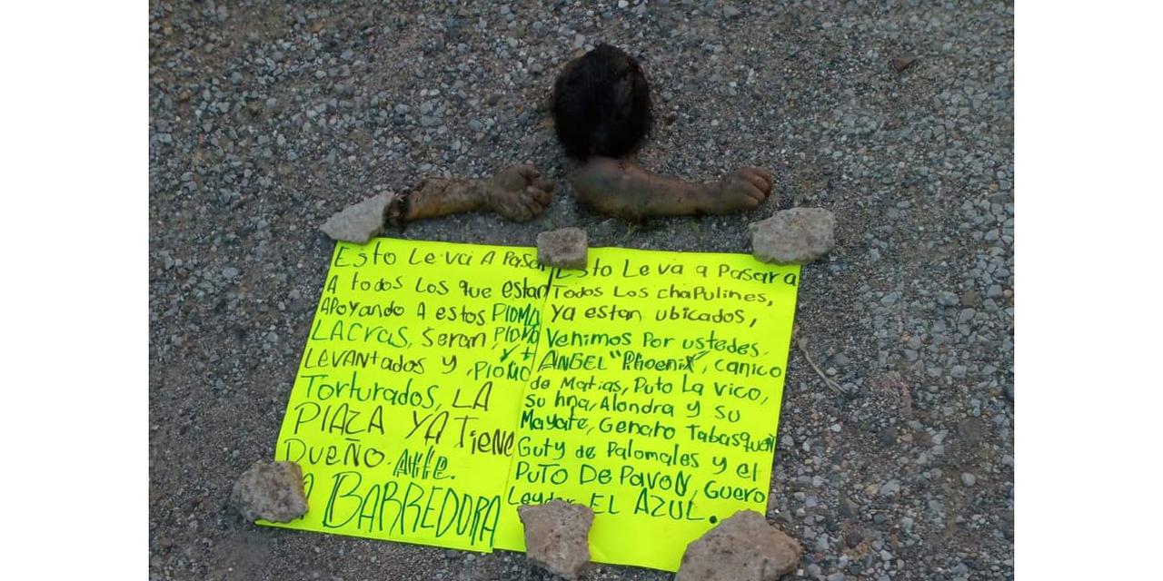 Hallan restos de decapitado en Palomares   El Imparcial de Oaxaca