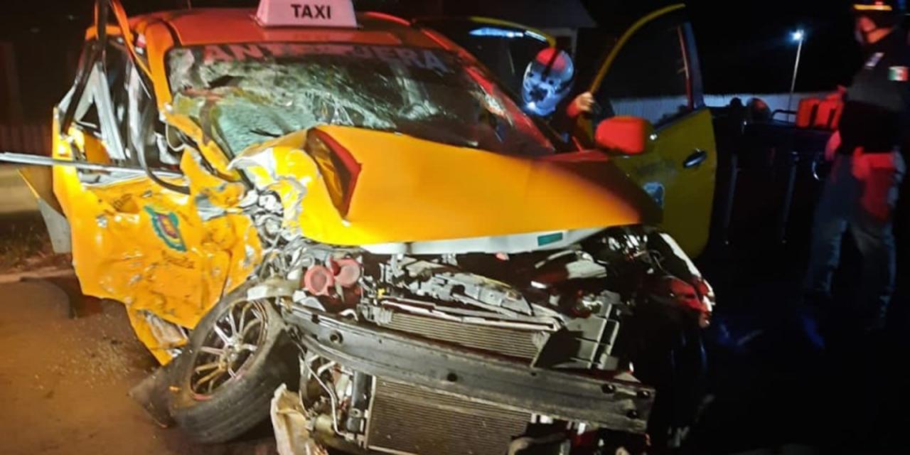 Tres heridos en accidente en Tlalixtac de Cabrera | El Imparcial de Oaxaca