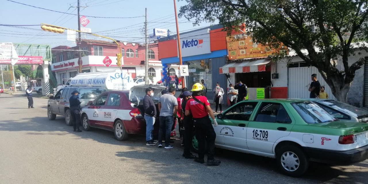 Carambola entre taxistas y particular deja heridos en Huajuapan | El Imparcial de Oaxaca