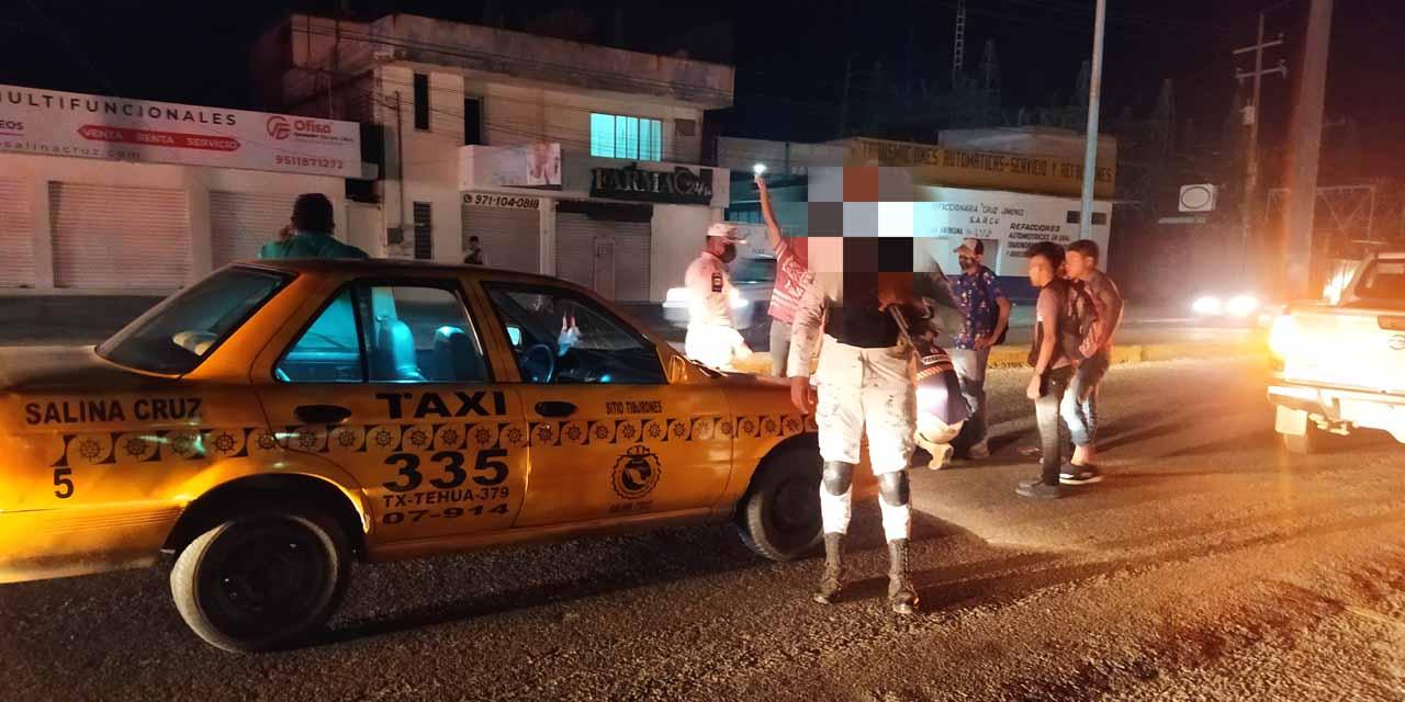 Atropella taxista a un adulto mayor | El Imparcial de Oaxaca