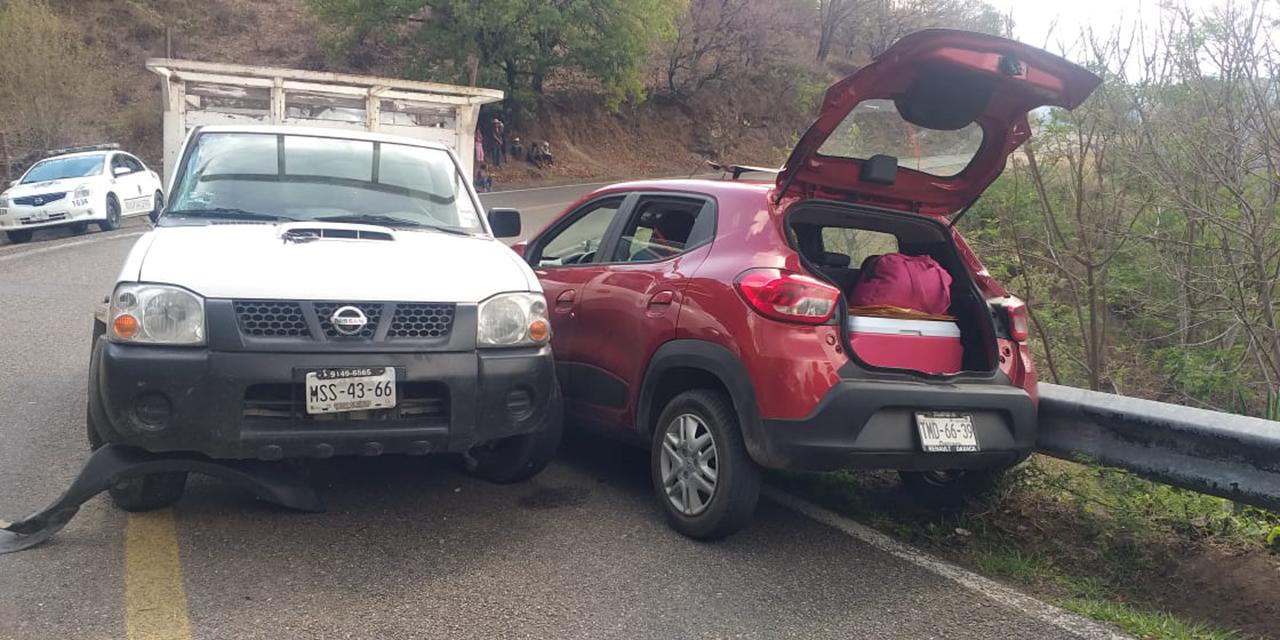 Accidente cerca de Sola de Vega   El Imparcial de Oaxaca