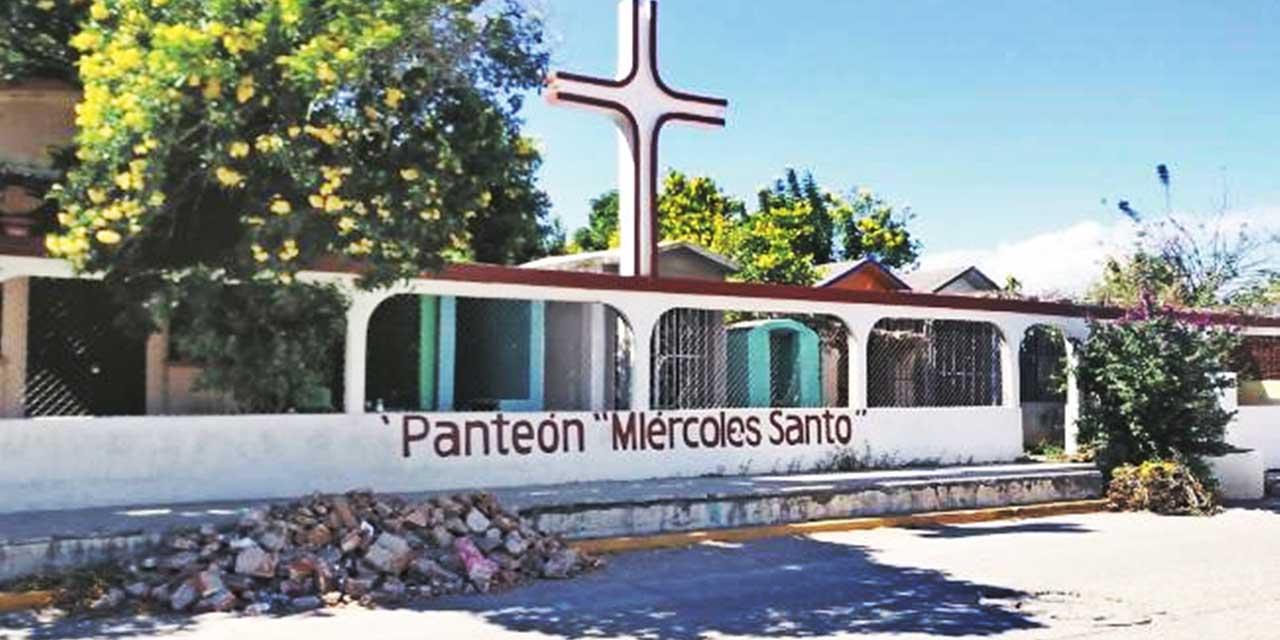 Sepultan a ras de suelo cuerpo con Covid-19 en Juchitán | El Imparcial de Oaxaca