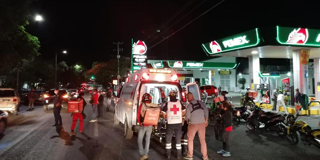 Arrollan a repartidores en crucero de Ixcotel | El Imparcial de Oaxaca