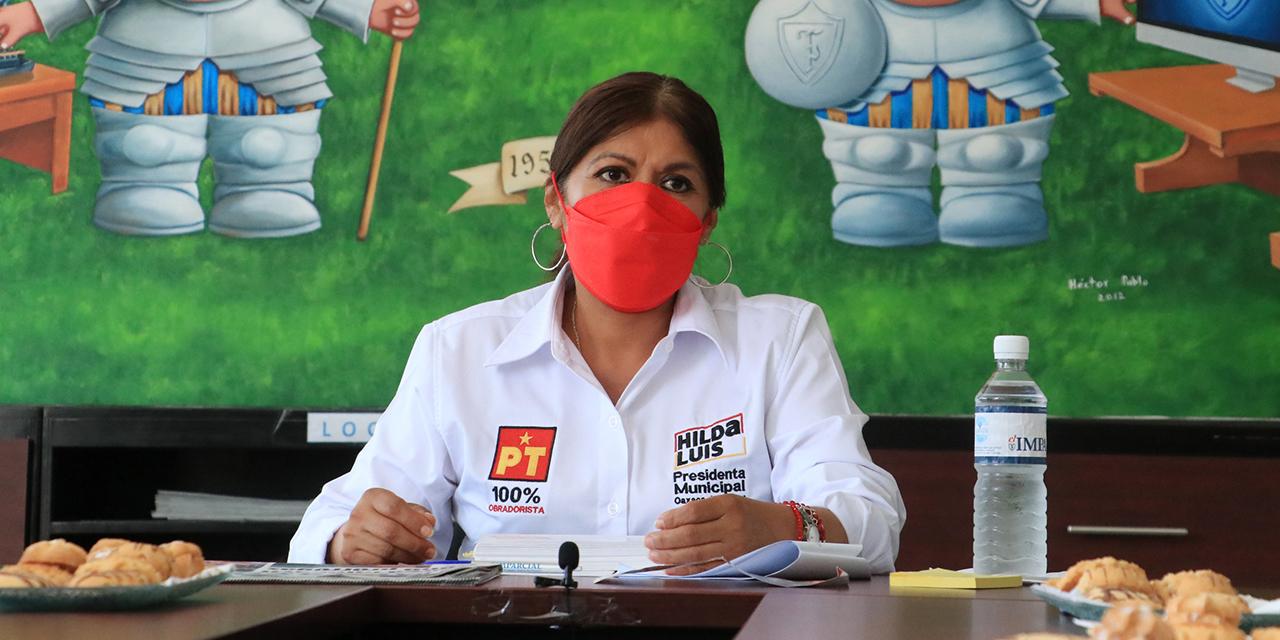 Hilda Pérez Luis refrenda compromiso con las mujeres   El Imparcial de Oaxaca